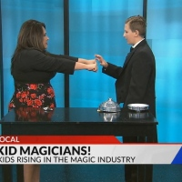 The Kid Magicians on FOX21 Morning News