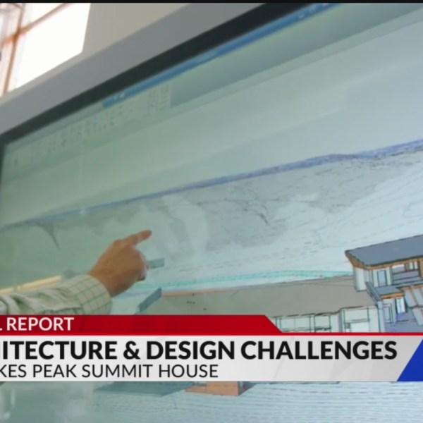 Pikes Peak Summit House presents unique design challenges