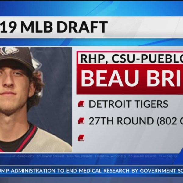Tigers selected CSU-Pueblo's Brieske in MLB Draft
