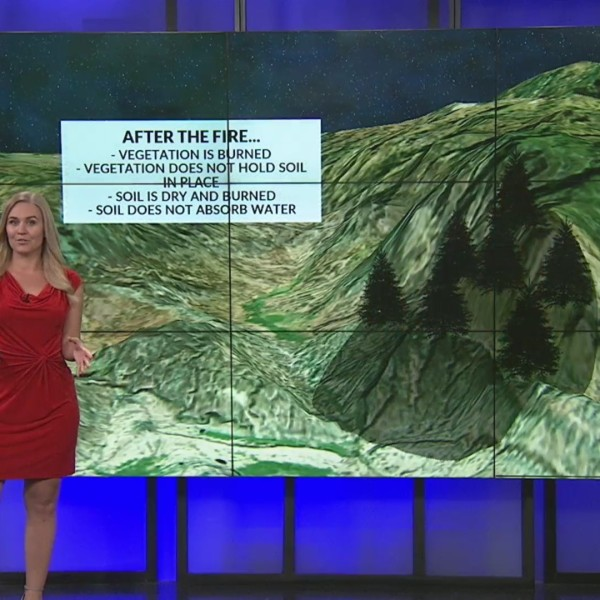 Weather Whys: What causes burn scar flooding?