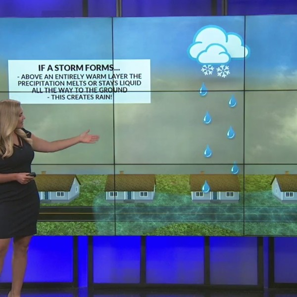Weather Whys: What determines precipitation type?