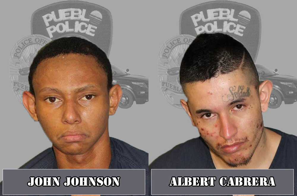 John Johnson and Albert Cabrera / Pueblo Police Department