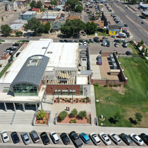Pueblo County Sheriff's Office Drone Shot