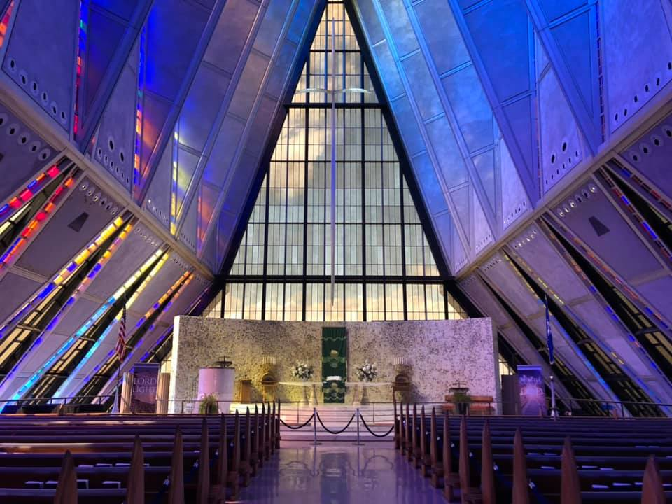 The U.S. Air Force Academy Cadet Chapel in August 2019 / Abbie Burke - FOX21 News