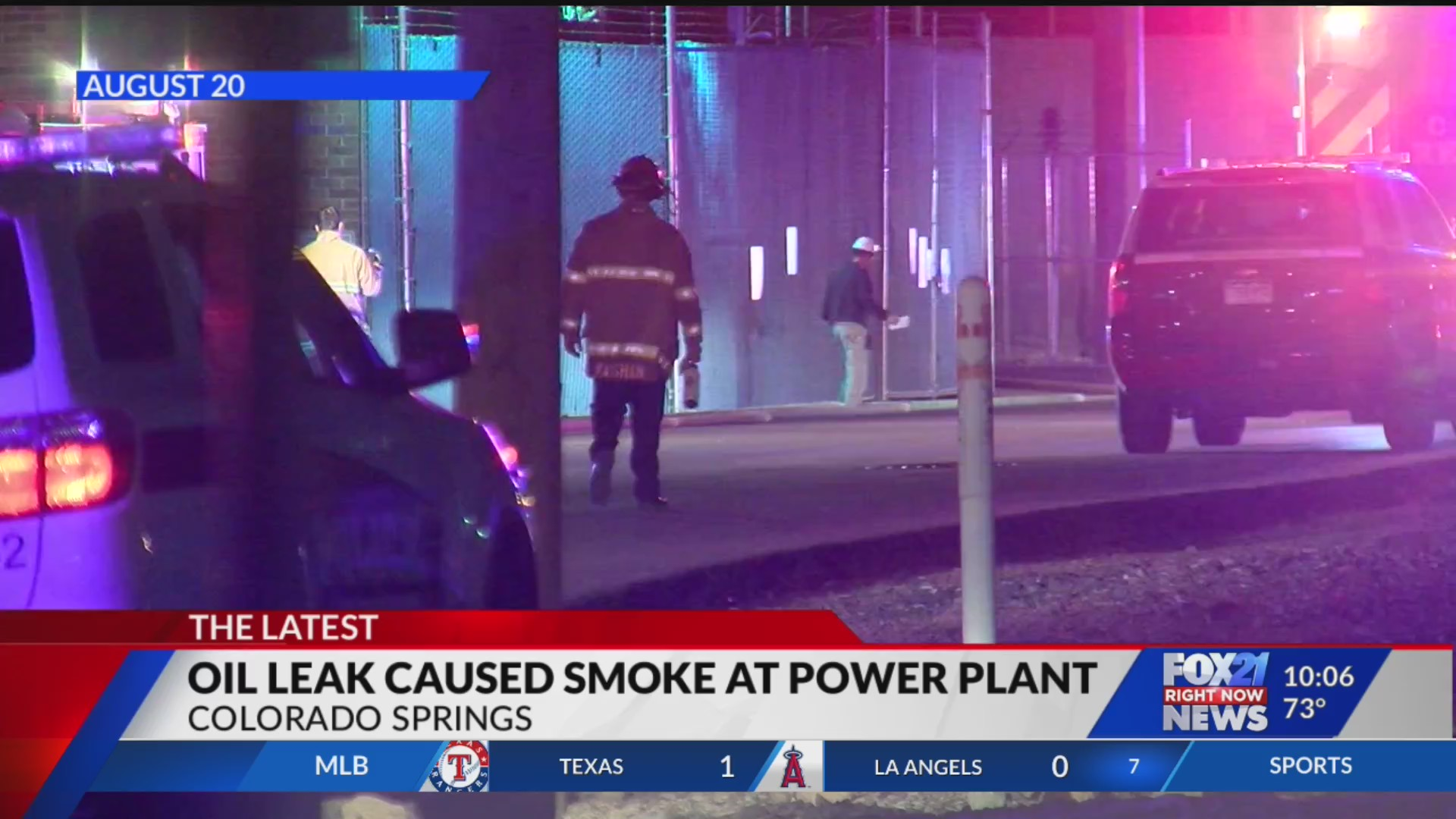 Cause of Colorado Springs power plant fire released