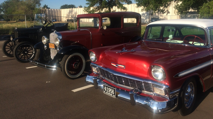 Several cars featured in this weekend's Old Colorado City Car Show visited FOX21 Friday morning for a preview of the show.