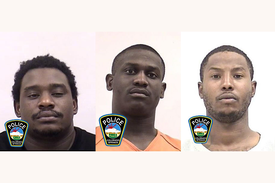 Michael Ellis, Troy Brown, and Rakeem Lewis / Colorado Springs Police Department