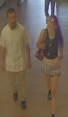 Surveillance image shows suspects accused of using stolen credit cards at a Colorado Springs Walmart in August. / Courtesy El Paso County Sheriff's Office