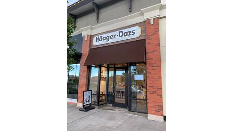 A new Häagen-Dazs store is now open in northern Colorado Springs. / Photo courtesy Ketchum