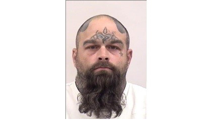 """JEREMY SHANE BURROW is a White Male, 43 years old, 5'9"""" tall, and 220 lbs., with brown hair and brown eyes. BURROW is wanted for Robbery, Attempted Murder and Assault with a Deadly Weapon."""