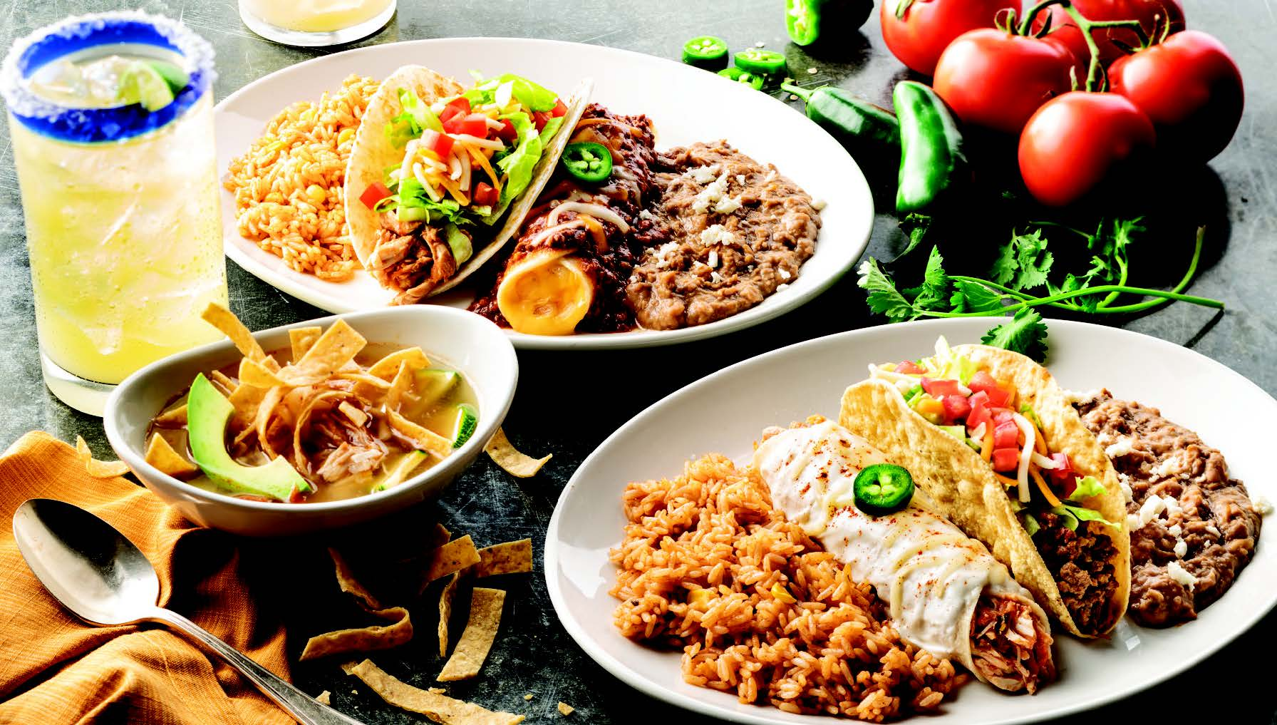 A Combo 2 meal at On the Border / Photo courtesy On the Border
