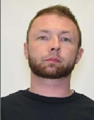 """RANDY RAY BISHOP is a White Male, 35 years old, 6'1"""" tall, and 170 lbs., with blonde hair and green eyes. BISHOP is wanted for Assault with a Deadly Weapon and Strangulation, Kidnapping, Felony Menacing and Child Abuse."""