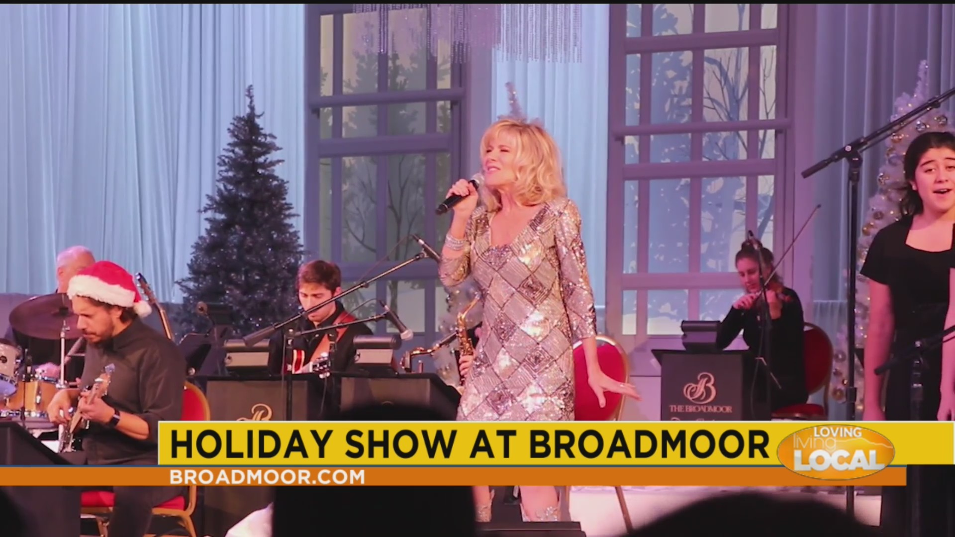 Broadmoor Christmas Show 2020 It's a magical Holiday Show at the Broadmoor with headliner Debby