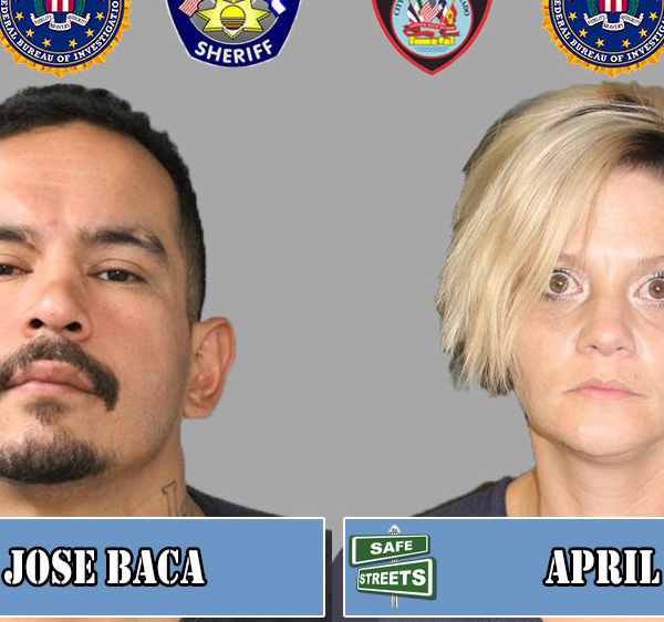 Jose Baca and April Reed / Pueblo Police Department