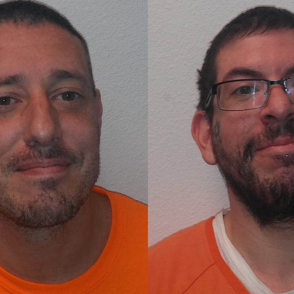 Jerry Williams and Bryan Webb / Courtesy Custer County Sheriff's Office