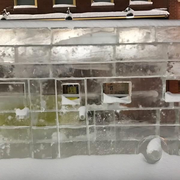 An ice bus at the Cripple Creek Ice Festival Friday morning. / Shawn Shanle - FOX21 News