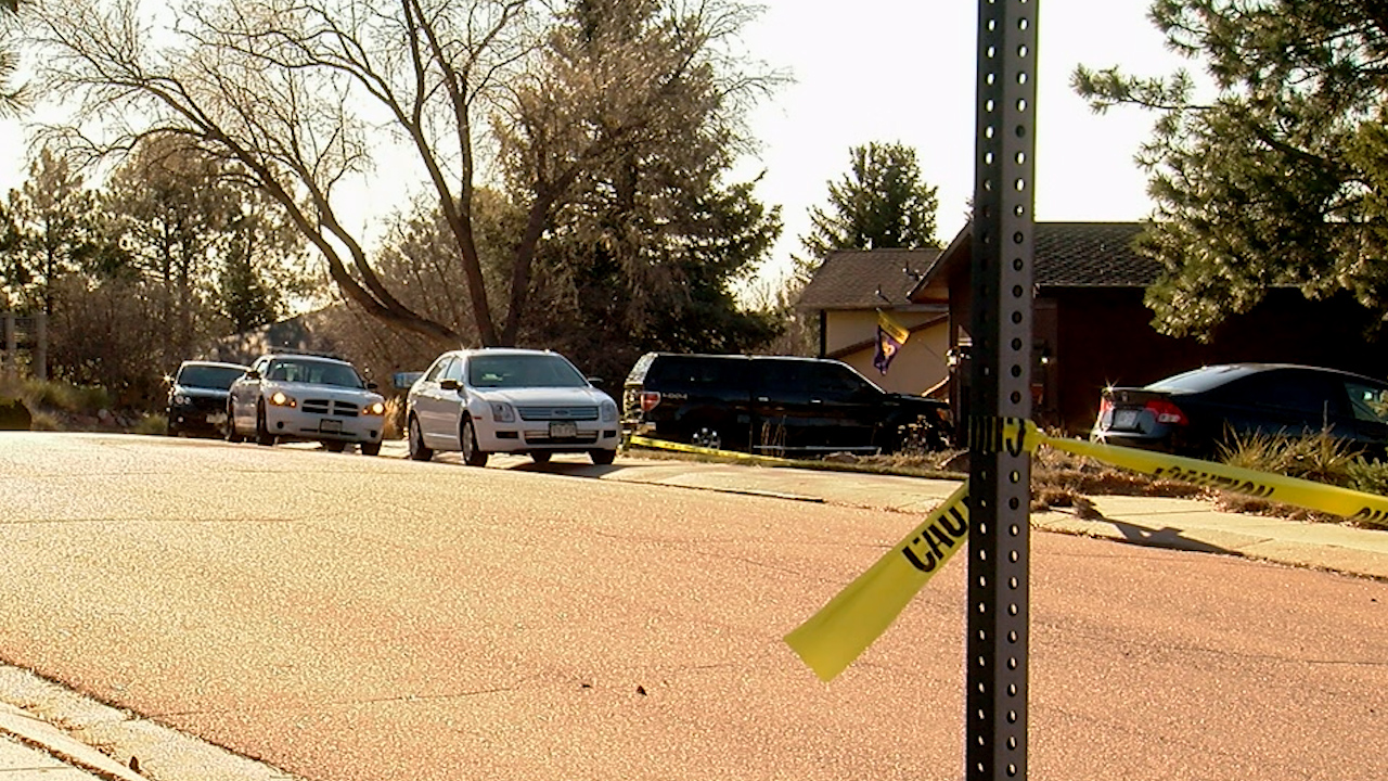 One person was killed and another was injured in a domestic disturbance in western Colorado Springs Wednesday morning. / Craig Denton Jr. - FOX21 News