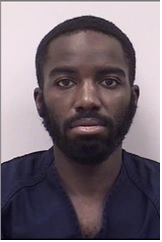 "MARTET LAVELL URQUHART is a Black Male, 33 years old, 5'8"" tall, and 160 lbs., with black hair and brown eyes. URQUHART is wanted for Assault, False Imprisonment, Harassment and Theft."
