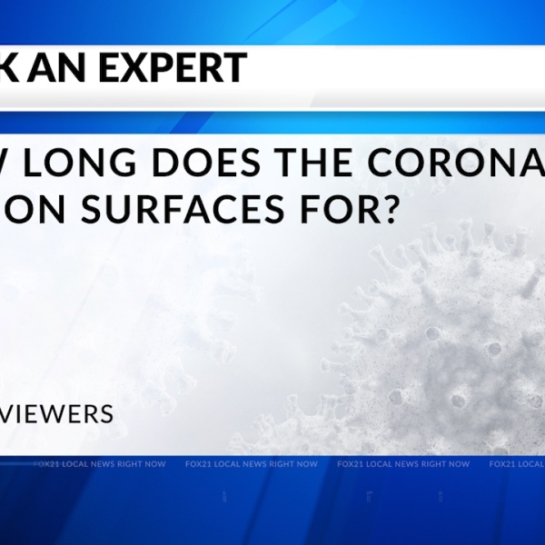 Ask An Expert: How Long Does COVID-19 Live On Surfaces