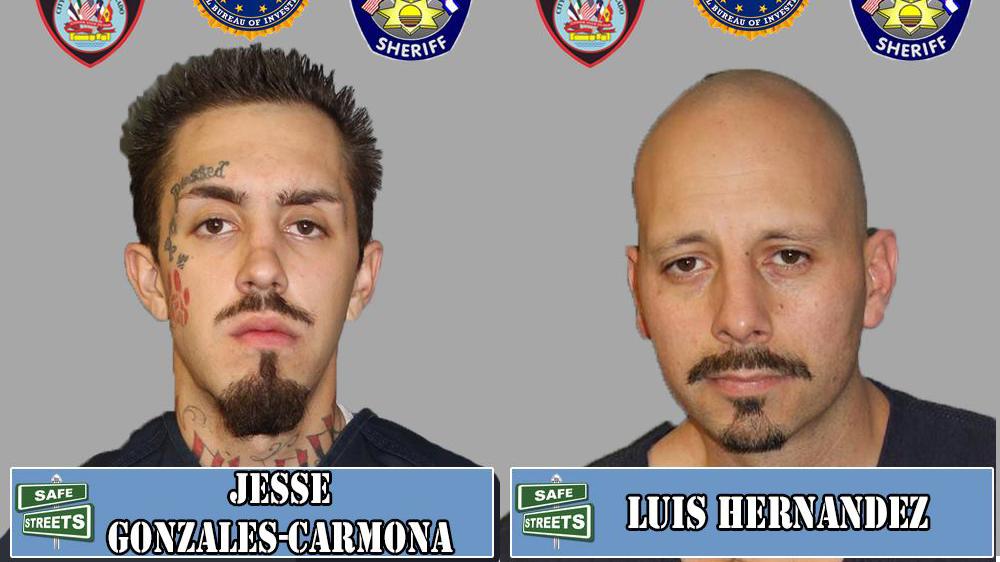 Jesse Gonzales-Carmona and Luis Hernandez / Pueblo Police Department