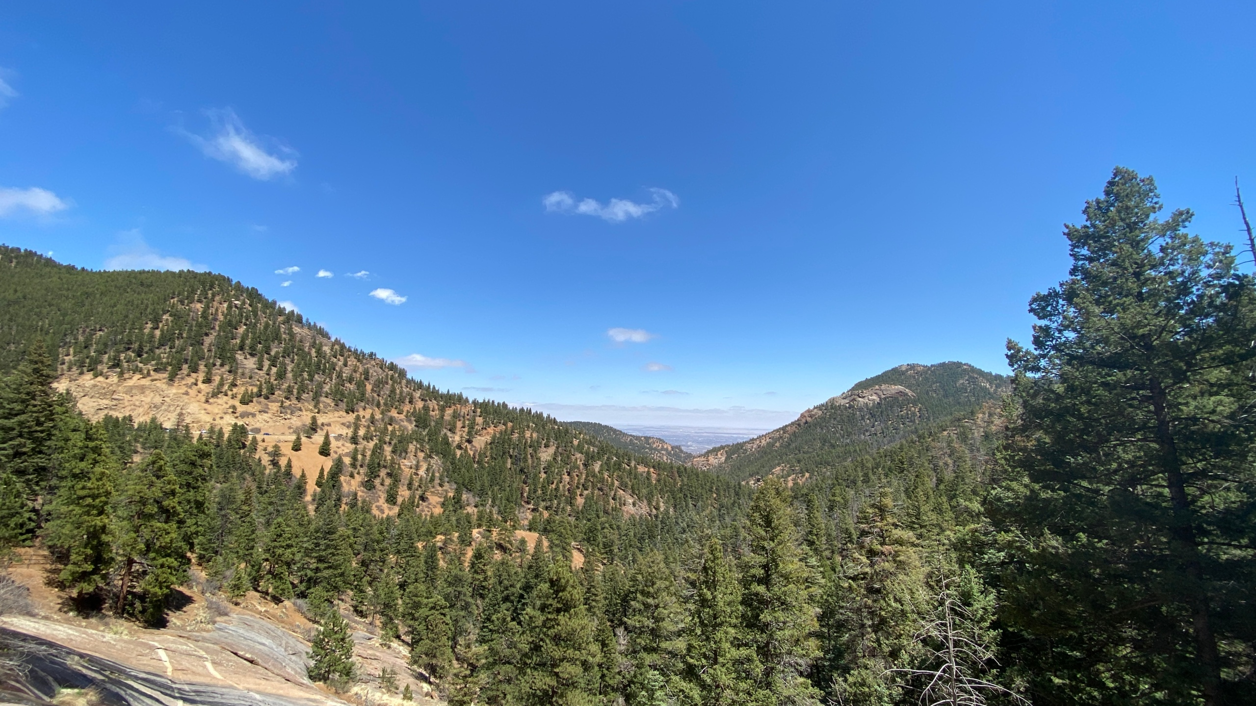 A view of North Cheyenne Cañon from the Silver Cascade Trail. / Brian DePalo - FOX21 News