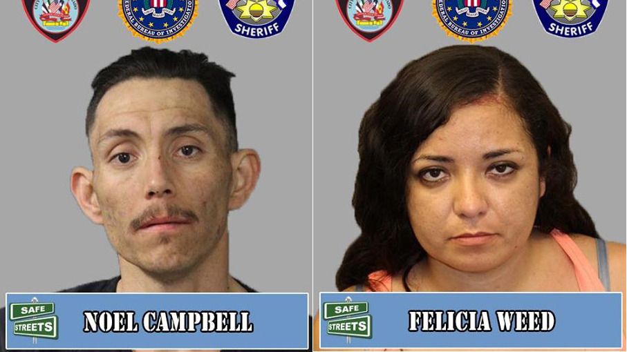 Noel Campbell and Felicia Weed / Pueblo Police Department