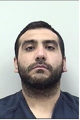 """ANDREW ARELLANO is a White Male, 34 years old, 6'1"""" tall, and 260 lbs., with black hair and brown eyes. ARELLANO is wanted for Stalking, Harassment and Violation of a Protection Order."""