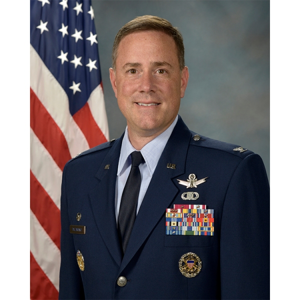 Col. Thomas G. Falzarano, 21st Space Wing commander / Photo courtesy Peterson AFB