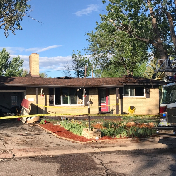 One person and two pets were killed in a house fire in Security early Monday morning. / Shawn Shanle - FOX21 News