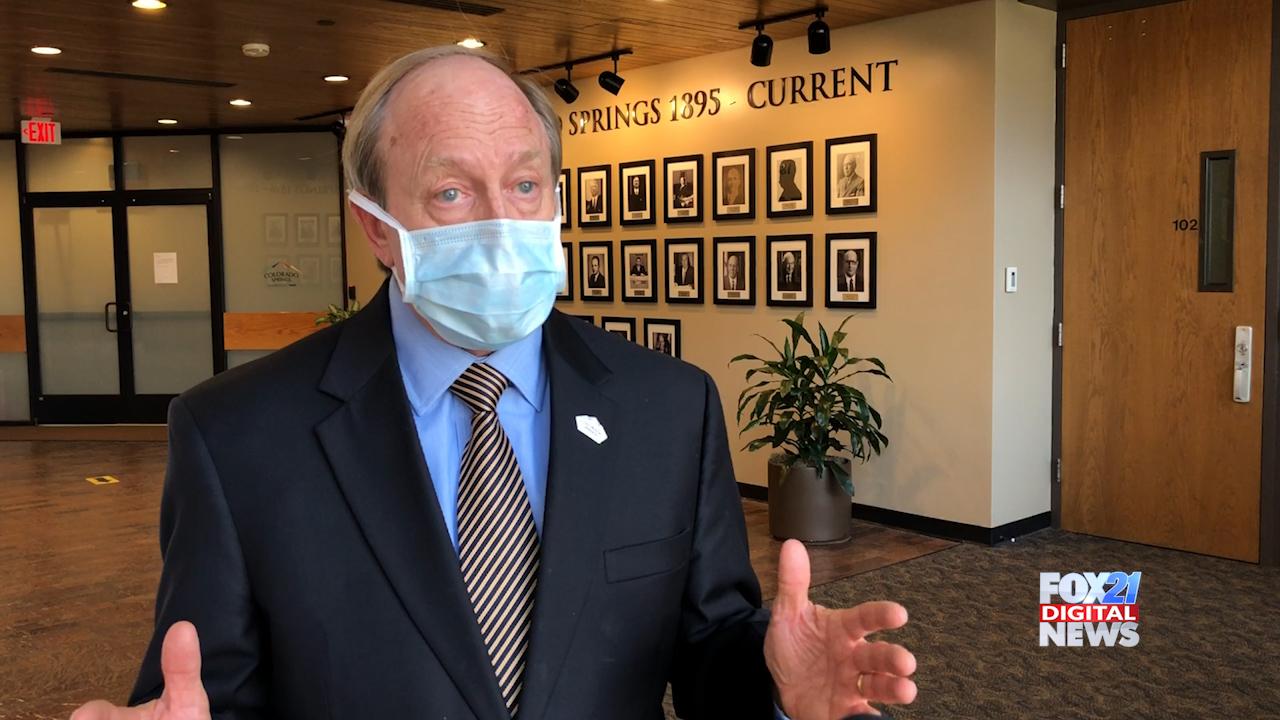 Colorado Springs Mayor John Suthers / FOX21 News file photo