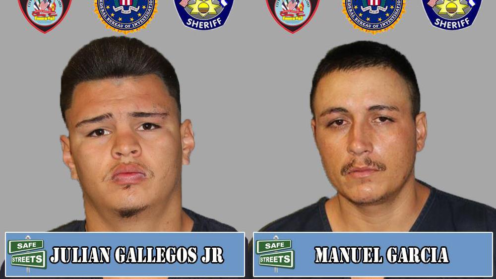 Julian Gallegos Jr. and Manuel Garcia / Pueblo Police Department