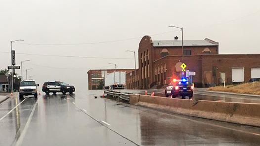 Police investigate a fatal motorcycle crash in Pueblo Tuesday morning. / Photo courtesy Pueblo Police Department