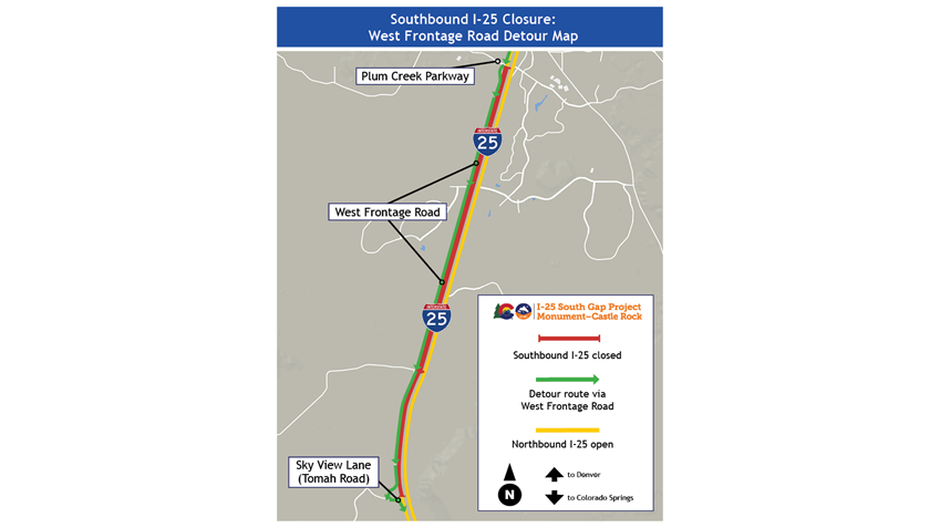 Map provided by CDOT.