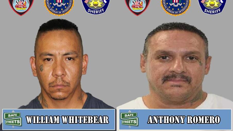 William Whitebear and Anthony Romero / Pueblo Police Department