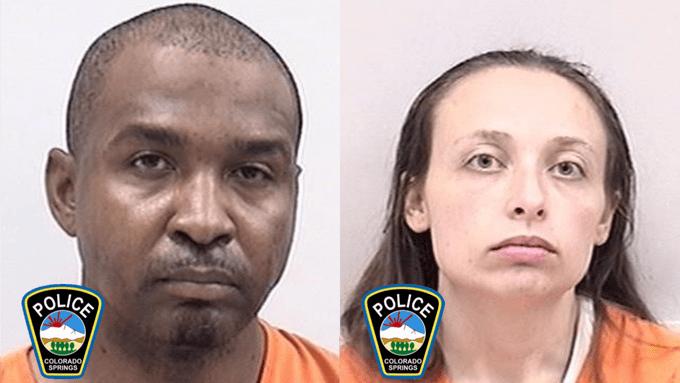 Marlon Byrd and Christine Barton / Colorado Springs Police Department