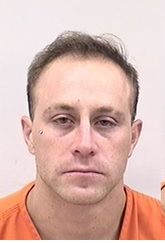 """BRANDON HOLMQUIST is a White Male, 29 years old, 5'9"""" tall, and 160 lbs., with brown hair and hazel eyes. HOLMQUIST is wanted for Kidnapping, Theft, Assault x3, Criminal Mischief, Violation of P/O, Child Abuse, Weapon Possession and Controlled Substance."""
