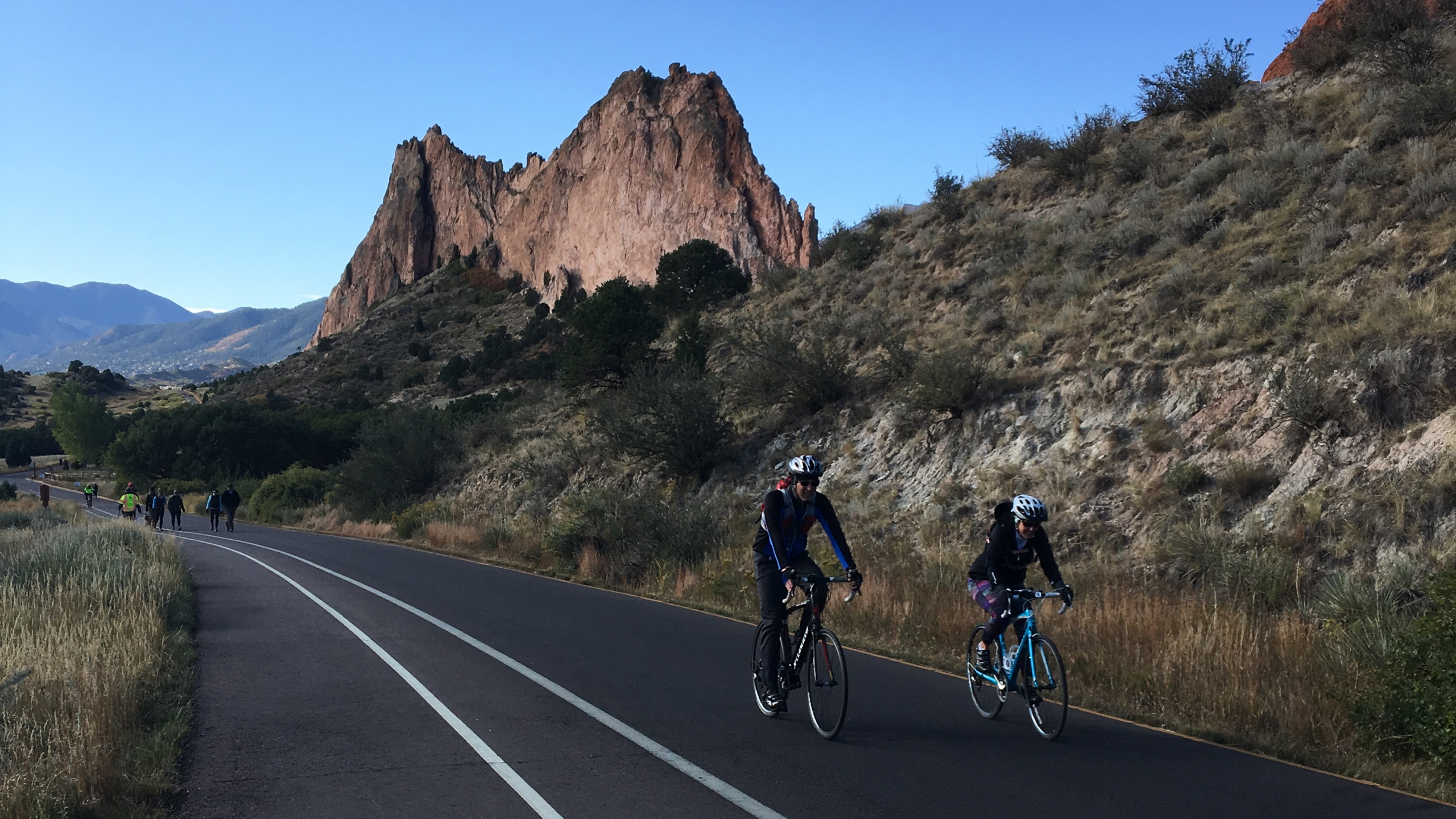 A past Motorless Morning event at Garden of the Gods. / Courtesy City of Colorado Springs