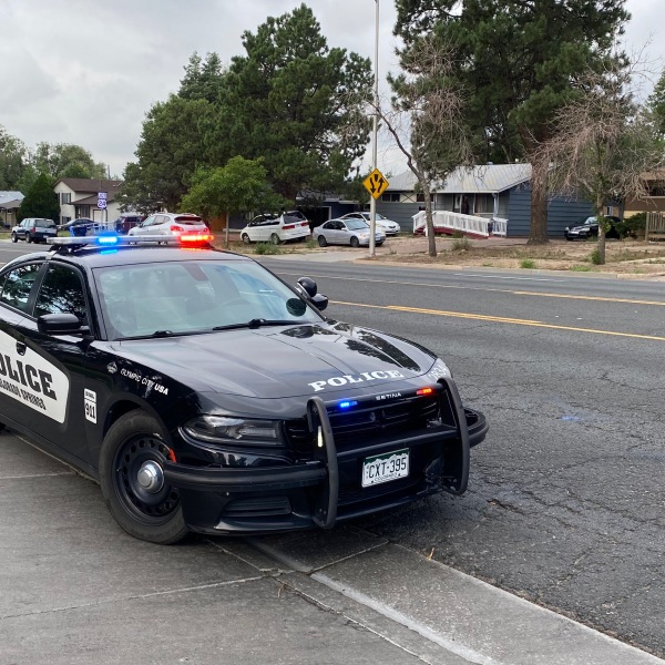 Police investigate a shooting on Circle Drive in southern Colorado Springs Wednesday morning. / Joe Swanson - FOX21 News
