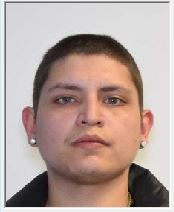 """CHRISTOPHER ALEJANDRO SANDOVAL is a White Male, 31 years old, 5'8"""" tall, and 175 lbs., with brown hair and brown eyes. SANDOVAL is wanted for Burglary, Assault, Menacing, Kidnapping, Aggravated Motor Vehicle Theft, Possession of Controlled Substance, Illegal Possession of Weapon and Theft."""