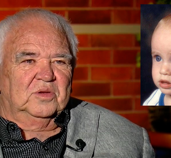 Gil Abeyta spoke with FOX21 in 2015. Inset is a photo of Christopher Abeyta as an infant.