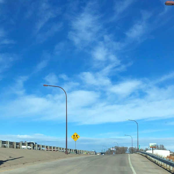 Ramp metering signals on the Fontanero Street ramp to northbound Interstate 25. / Photo courtesy CDOT