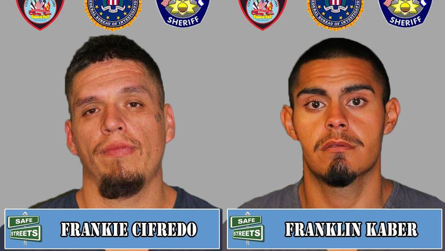 Frankie Cifredo and Franklin Kaber / Pueblo Police Department