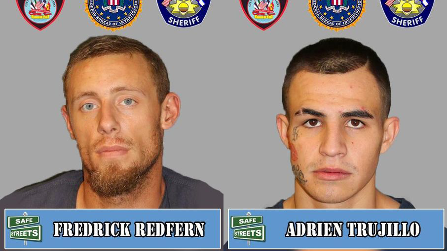 Fredrick Redfern and Adrien Trujillo / Pueblo Police Department
