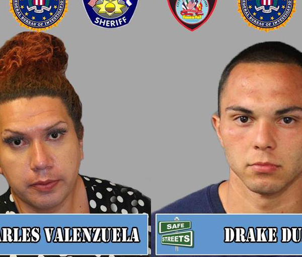 Charles Valenzuela and Drake Durbin / Pueblo Police Department