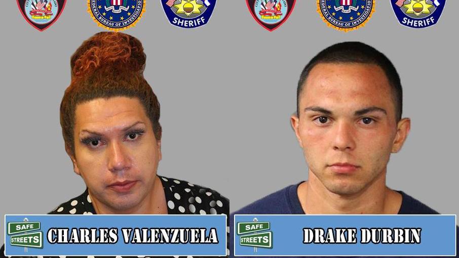 Charles Valenzuela and Drake Durbin / Pueblo Police Department