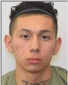 """ROBERT ANGEL PENA is a White Male, 25 years old, 5'7"""" tall, and 150 lbs., with black hair and brown eyes. PENA is wanted for Assault 2 – Causing SBI, Violent Crime – Causing Death/SBI."""