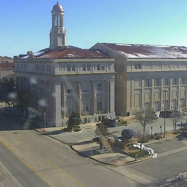 Downtown Pueblo around 10:30 a.m. Thursday.