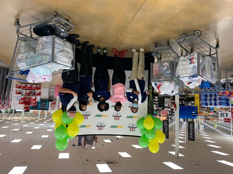 Fort Carson Sgt. Kierra Howard won a $10,000 shopping spree to the Exchange Tuesday. / Sarah Hempelmann - FOX21 News