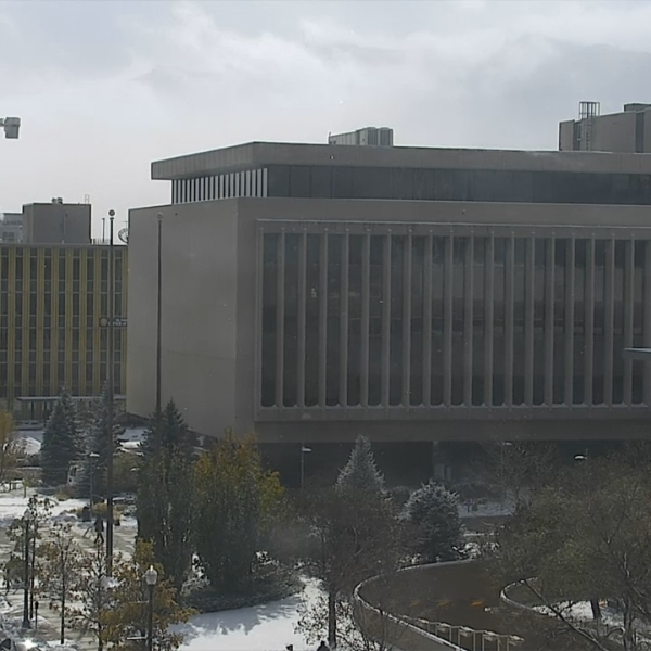 The El Paso County Courthouse and Sheriff's Office Monday afternoon.
