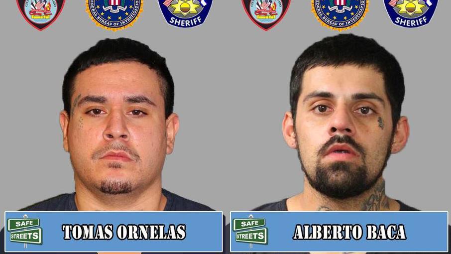 Tomas Ornelas and Alberto Baca / Pueblo Police Department